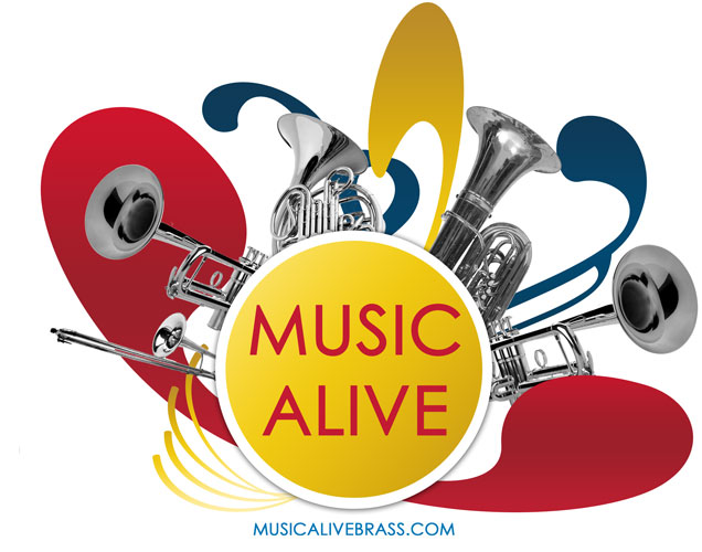 Click to the Music Alive Brass Website