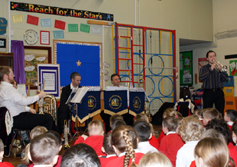 A recent performance at St Stephen's Primary School Astley